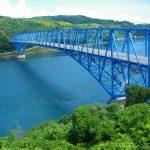 黒之瀬戸は阿久根と長島の間にある日本三大急潮の一つ。