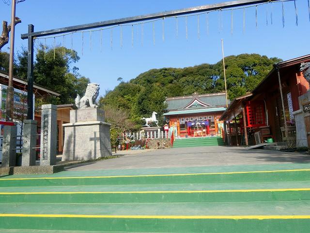 加紫久利神社は歴史のある神社です。