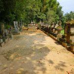 鹿児島県出水市にある薩州島津家の墓を訪ねました。