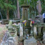 鹿児島県出水市にある山田昌厳(やまだしょうがん)のお墓に参りました。