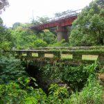 境川は薩摩と肥後の境にあり、歴史が刻まれていた。