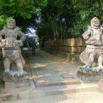 鹿児島で最も古い禅寺の観応禅寺の御朱印を頂く。