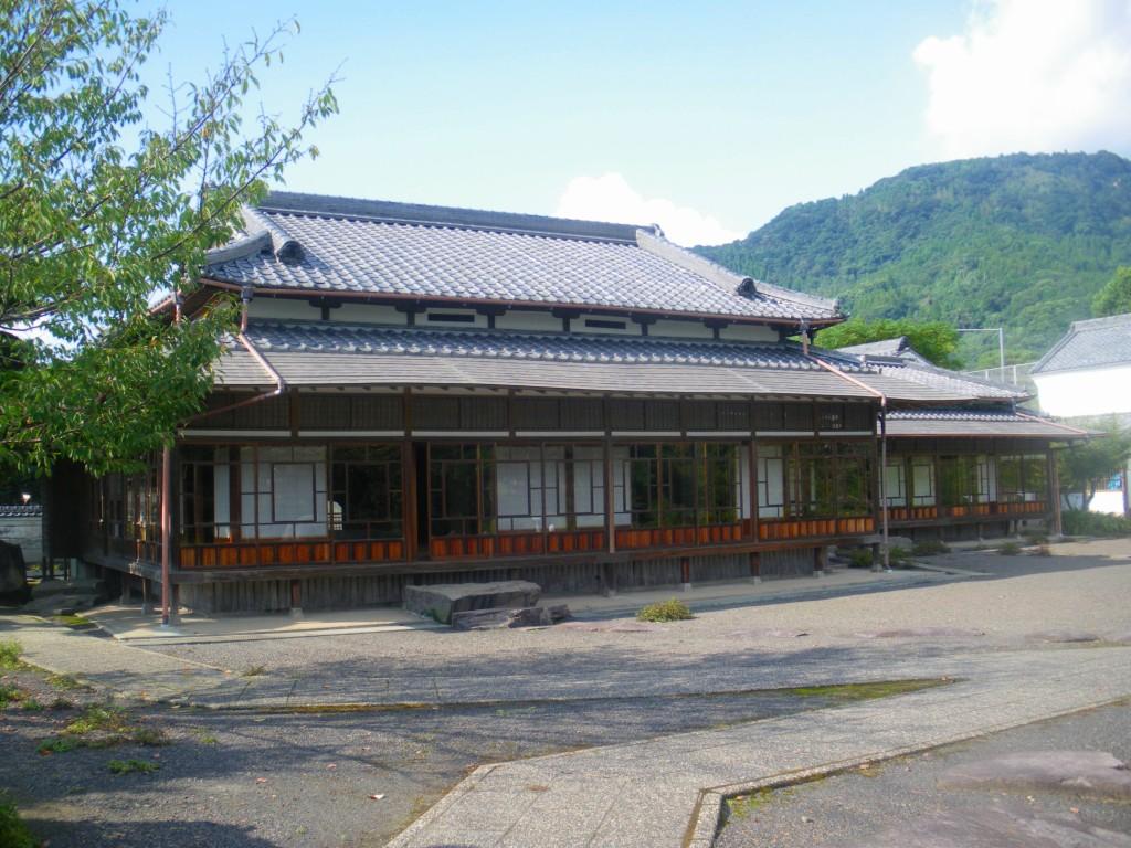 旧田中家別邸、見学は無料でした。