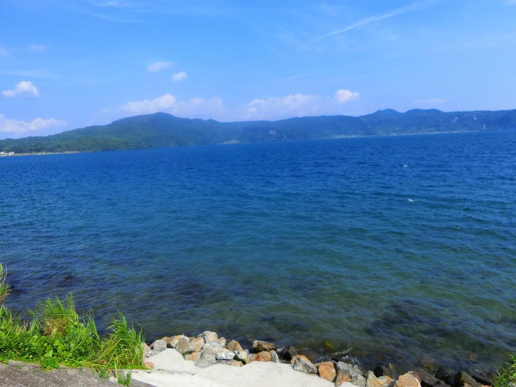池田湖は九州最大のカルデラ湖です。