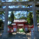 志布志の大楠で知られる山宮神社の御朱印を頂きました。