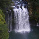 神川大滝公園の迫力ある大滝はパワースポットです。