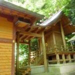 鹿児島県霧島市の伊勢神社は舞鶴城の鬼門に鎮座します。