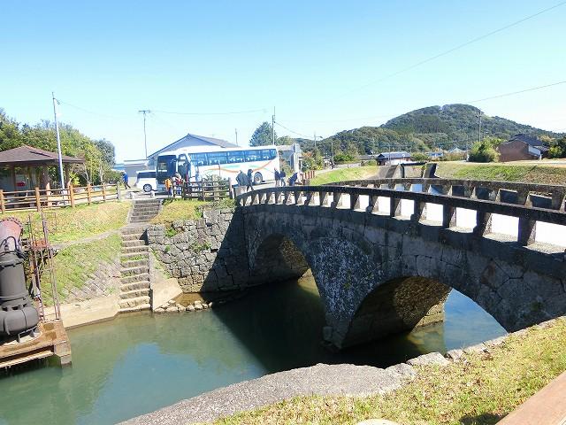 江之口橋で先人の知恵と努力を思いました。