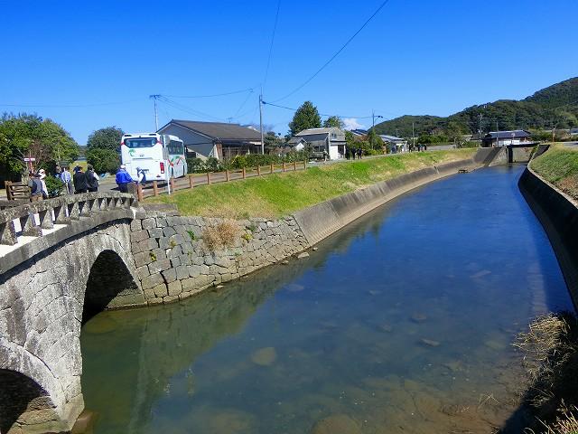 八間川を作り川内川に雨水を流しました。