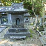 北郷家の墓地に立つと薩摩川内市の歴史を感じました。