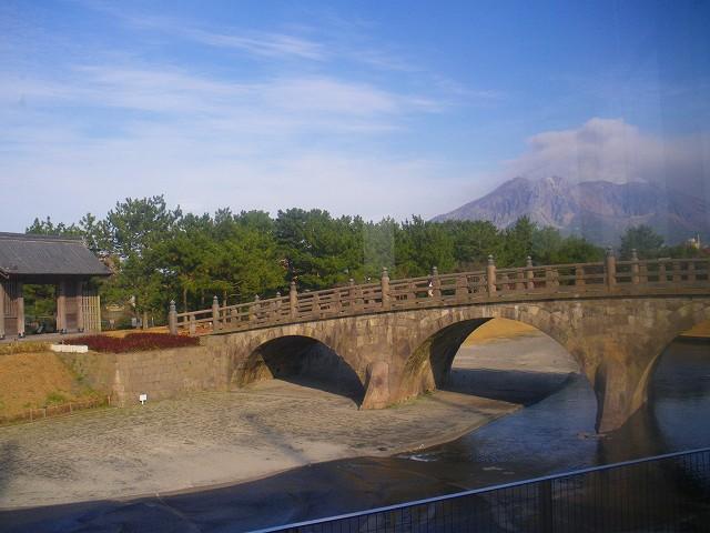 岩永三五郎の石橋は石橋公園に移設。