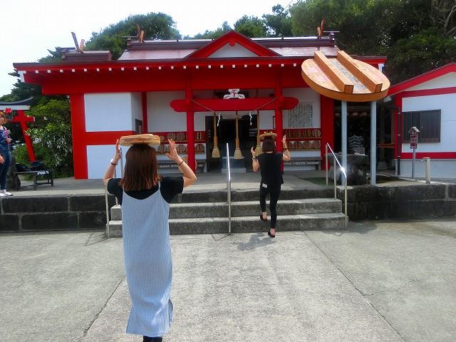 釜蓋神社です
