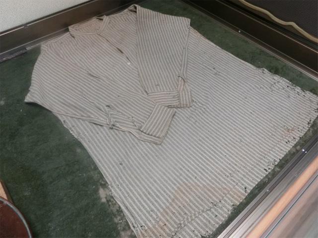 西郷どんのシャツが残されていました。
