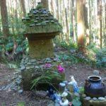 鹿児島県南九州市の頴娃町・雪丸地区に伝わる真田幸村のお墓です。