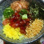 枕崎市での「御朱印めし」は、だいとくで食べたご当地グルメの「枕崎鰹船人(ふなと)めし」です。