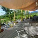 テラスカフェ空は農園ガーデン秘密の花園にある心癒されるカフェです。