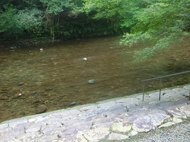 吾平山上陵を清らかな姶良川が流れます。