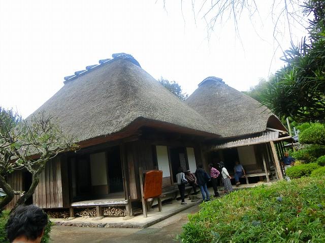 二階堂家住宅は江戸時代に建てられました。
