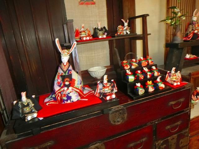 創作人形のギャラリー京の可愛い人形たち
