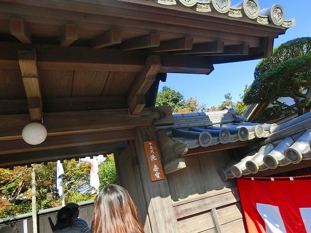 藩政時代の仮屋にあった仮屋門を移築しました。