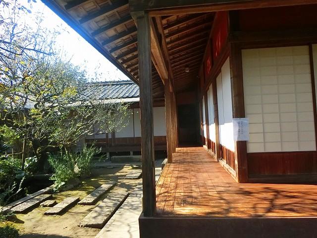 藩政時代に仮屋(役所)が置かれた屋敷です。