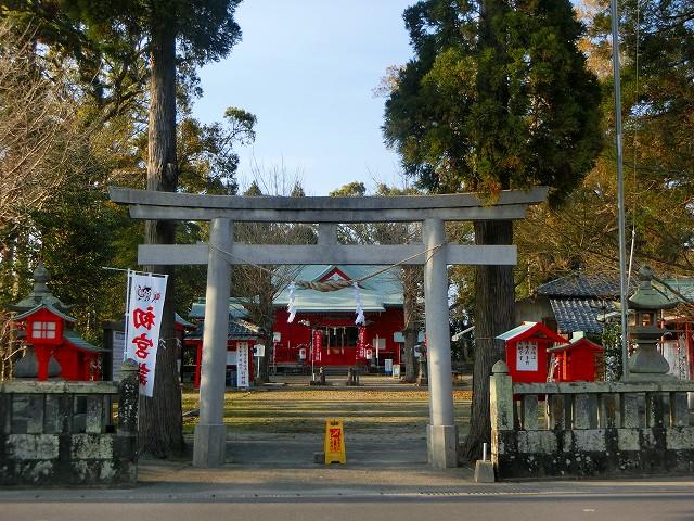 戦国島津氏の守護神・大汝牟遅神社です