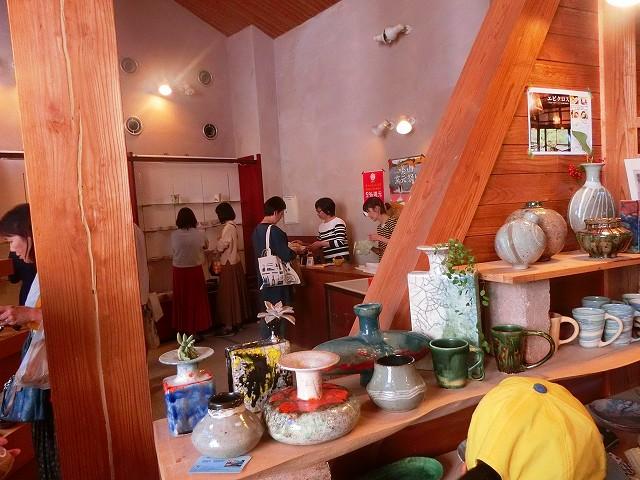 陶遊館では美山窯元の陶器が買えますよ。