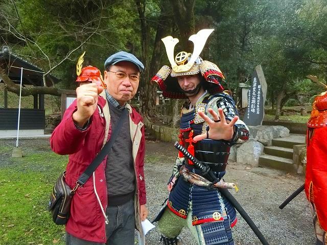 島津豊久はなんと外国の人でした。