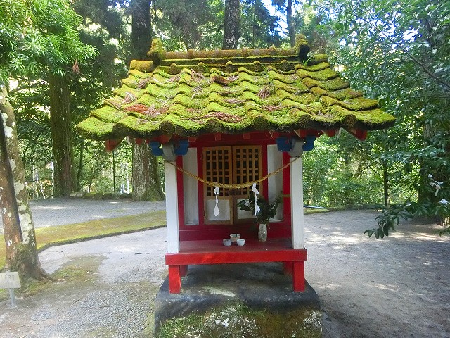 安良神社は大隅五社の一つです。