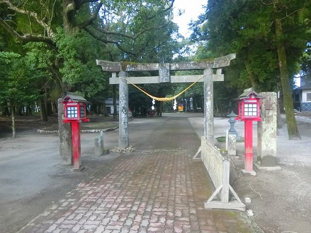 勝栗神社の鳥居です。