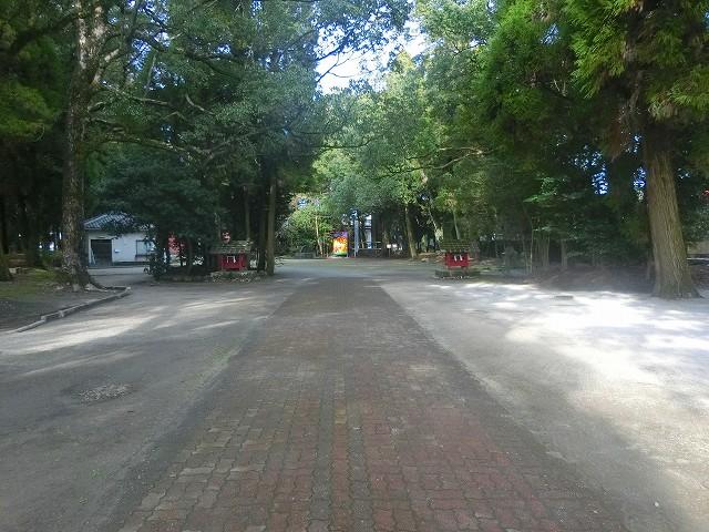勝栗神社の参道です。