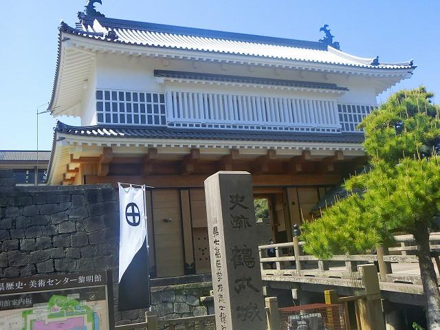鹿児島まち歩き (鶴丸城の御楼門)