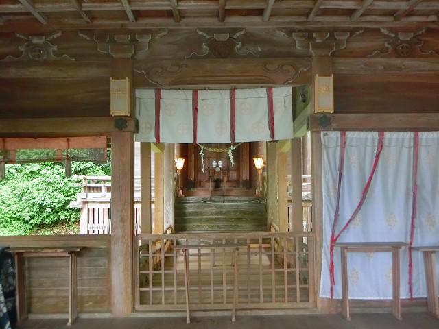 精矛神社は島津義弘公を祀ります。