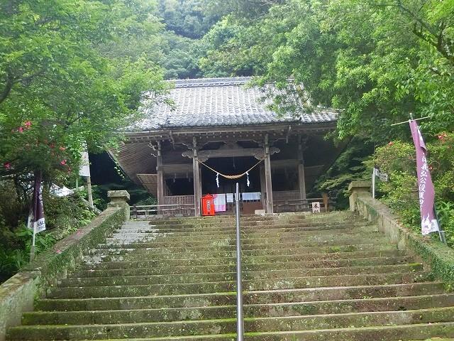 島津義弘公を祀る精矛神社に参拝しました。