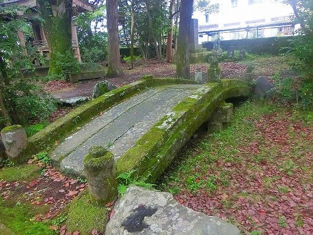 義弘公が作らせた石橋は残っていました。