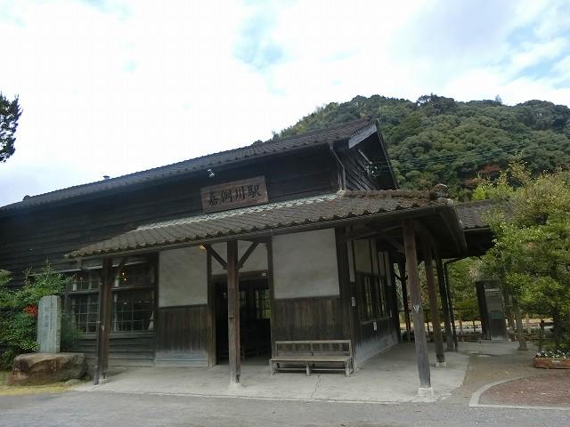 嘉例川駅は鹿児島県で最古の木造駅舎です。
