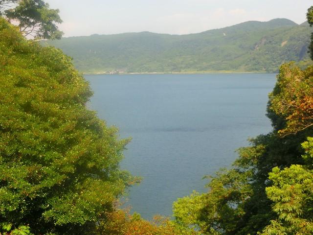 鹿児島の池田湖の裏側にある鳥越堀切を見てきました。
