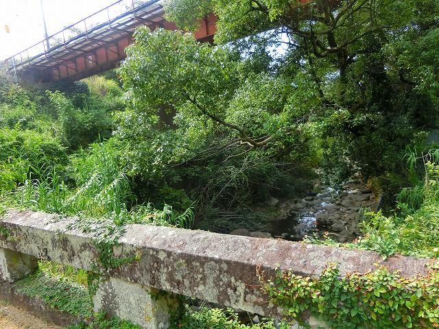 さかい橋の上には肥薩おれんじ鉄道