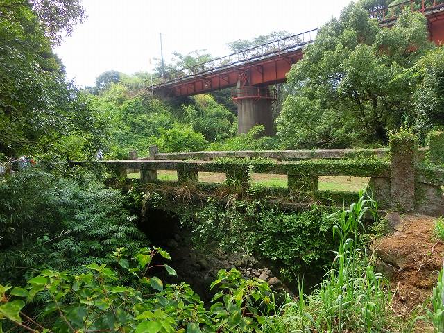薩摩と肥後の間にある境川です。
