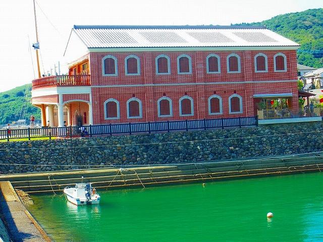 薩摩藩英国留学生記念館はレンガ造り