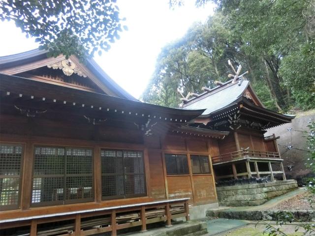 鹿児島県最古と云われる稲荷神社の社殿。