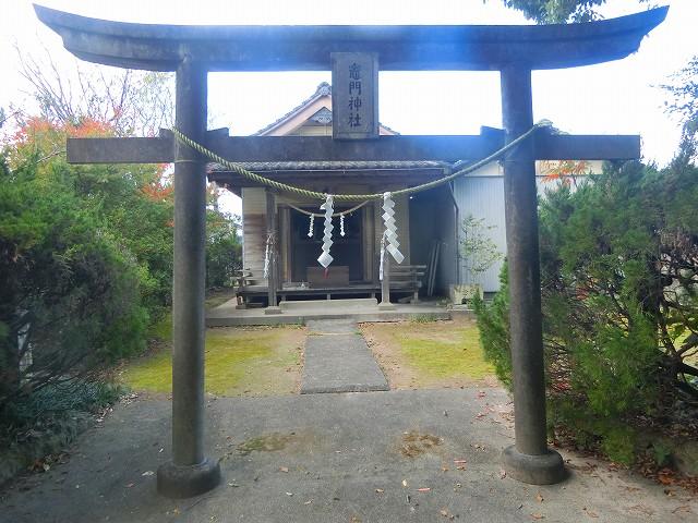 薩摩川内市の竈門神社です。