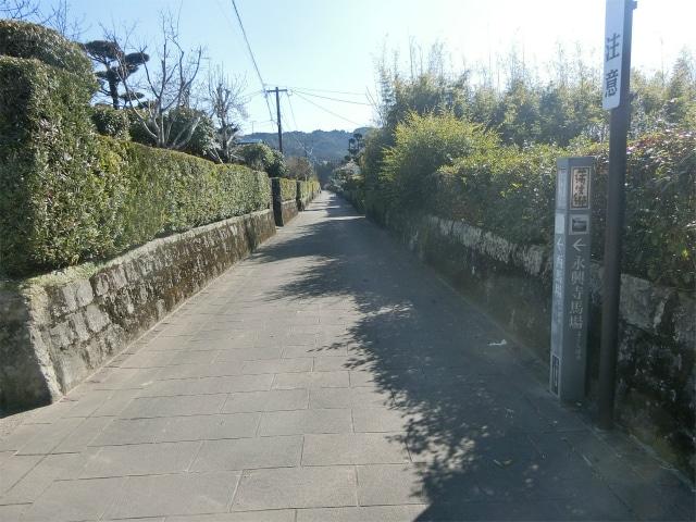 蒲生麓の武家屋敷通りに行ってきました。