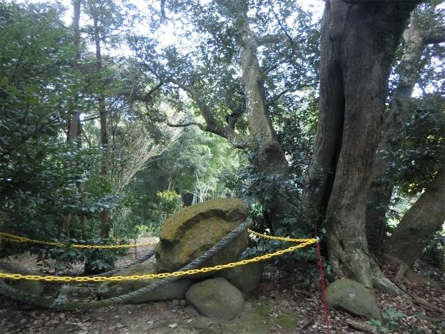 大きな岩はドルメン(支石墓)です。