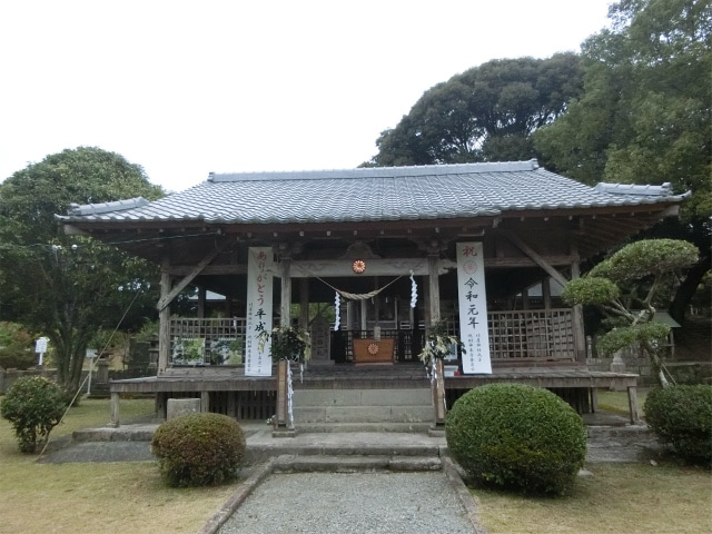 竹屋神社の拝殿に参拝しました。