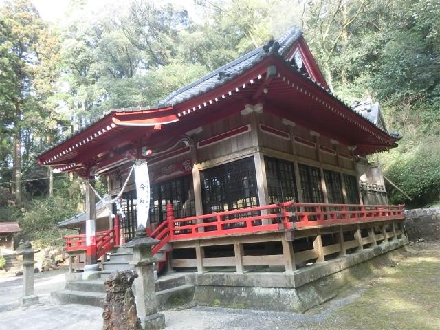 住吉神社は薩摩藩の直轄神社になりました。