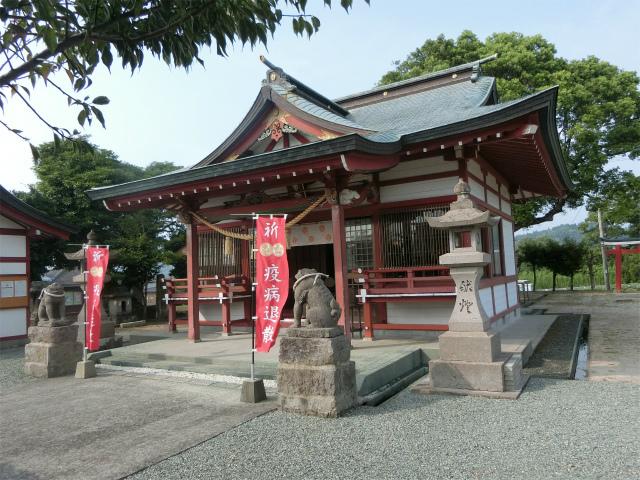 市来神社に参拝しました。