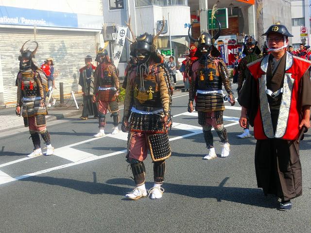 妙円寺詣りの武者行列です。
