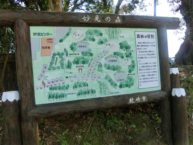 妙見神社の一帯は妙見の森です。