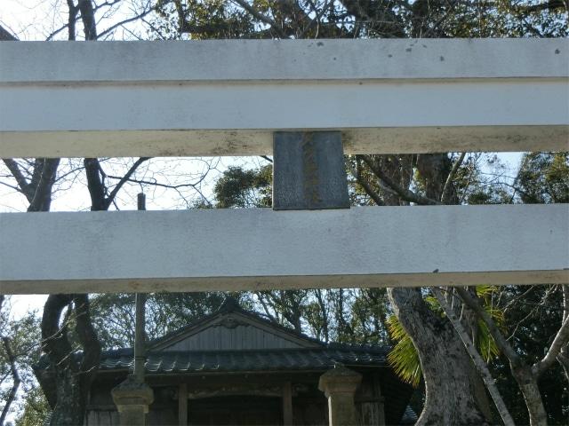 赤が多い鳥居の中で白い鳥居は珍しいです。